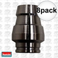 "Makita 763643-6 8x 1/2"" Replacement Router Collet Sleeve"