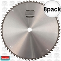 "Makita 792118-8 8pk 16-5/16"" x 60T Carbide Circular Saw Blade"