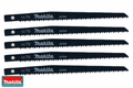 "Makita 792616-2 5pk 5-7/8"" x 9 TPI Reciprocating Saw Blades"