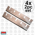 "Makita 793186-4 4x 2pk 6-3/4"" Replacement Planer Blades Makita for 1806B"