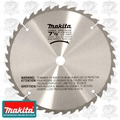 "Makita A-90629 7-1/2"" x 40 Tooth Carbide Tipped Saw Blade"