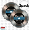 "Makita A-93712 1x 2pc 12"" x 60 Tooth ""Quiet"" Carbide Circular Saw Blade"