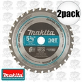 Makita A-95037 5-3/8'' 30T Carbide-Tipped Metal Cutting Blade