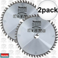 "Makita B-07353 2pk 6-1/2"" 48 Tooth Circular Saw Blade"