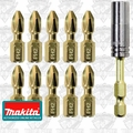 Makita B-35112 11 Piece Impact GOLD Torsion Magnetic Insert Bit Set
