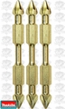 "Makita B-39590 3pc Impact GOLD #3 2-1/2"" Phillips Power Bits Double-Ended"
