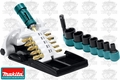 Makita B-42357 19 Piece Impact GOLD Magnetic Insert Bit & Socket Set