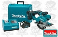 "Makita BCS550 5-3/8"" Metal Cutting Saw Kit 2 Batteries"