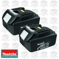 Makita BL1830-2 18 Volt 3.0 Ah LXT Li-Ion Battery Packs NIB