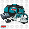 Makita BPB180 Cordless Portable Band Saw Kit