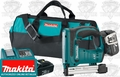 "Makita BST221 3/8"" Crown Stapler Kit"