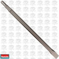 "Makita D-19205 1-1/8"" x 18"" Flat Chisel, Spline or 3/4"" hex - 21/32"" round"