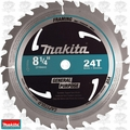 "Makita D-21521 8-1/4"" x 24 Tooth Carbide Circular Saw Blade"