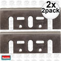 "Makita D-46230 2x 2pk 3-1/4"" High Speed Steel Planer Blades (old # D-17217"