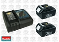 Makita DCBL1830X2 Kit with (1) DC18RC & (2) BL1830