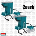 Makita DCM500Z 2pk Cordless Coffee Maker 18volt LXT or 115volts cord powered