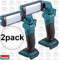 Makita DML801 2pk 18 Volt LXT Lithium-Ion 12 LED Flashlight (Tool Only)