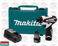 Makita FD01W 12v MAX Lithium-Ion 2 Speed Compact Driver-Drill Tool Kit
