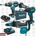 "Makita HR5212C 2"" AVT SDS-MAX Rotary Hammer w/ Hammer Drill and Impact"