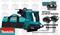 "Makita HRH01ZX2 X2 LXT Lithium-Ion 1"" Rotary Hammer"