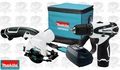 Makita LCT208W 12 Volt Cordless Lithium-Ion 2-Piece Combo Kit