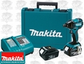 Makita LXDT08 LXT Brushless Cordless Impact Driver Kit