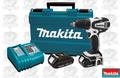 "Makita LXFD01CW 1/2"" Lithium-Ion Drill / Driver Kit"