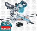 "Makita LXSL01 7-1/2"" Dual Slide Compound Cordless Miter Saw"