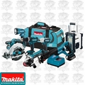 Makita LXT702 7 Piece 18 Volt LXT Lithium-Ion Combo Kit