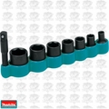 "Makita T-02369 1/4"" Drive 6-Point Standard Alloy Steel Socket Set, 8-Pieces"