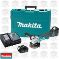 Makita XAG03M 18V LXT Brushless 4-1/2'' Cut-Off Angle Grinder Kit