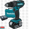 "Makita XPH102 18V LXT Li-Ion 1/2"" Hammer Driver-Drill Kit replaces XPH012"