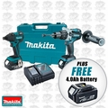 Makita XT257M 2 Pc Cordless Combo Kit + FREE 18V Makita 4.0Ah Battery