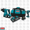 Makita XT258PMB 18V LXT Lithium-Ion Cordless 2pc Combo Kit (3x 4.0Ah)