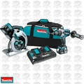 Makita XT259PM Hammer Drill/Dvr 2Batt 7-1/4 Circ Saw
