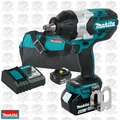 "Makita XWT08M 18V 4.0 LXT Li-Ion Brushless 1/2"" Square Drive Impact Kit OB"