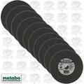 "Metabo 55-339 10pk 6"" x 7/8"" x .040 Cut Off Slicer Wheel"