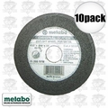 "Metabo 55331 10pk 4-1/2"" 60 Grit Slicer Wheel aka 655331000"