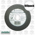 "Metabo 55331 100pk 4-1/2"" 60 Grit Slicer Wheel aka 655331000"