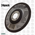 "Metabo 55346 24pk 4.5x045x7/8"" Original Slicer Type27 Depressed"
