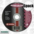 "Metabo 55994 6pk 4.5x045x7/8"" Super Slicer"