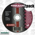"Metabo 55994 2pk 4.5x045x7/8"" Super Slicer"