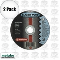 Metabo 55998 2pk SLICER-PLUS High Performance Cutting Wheel