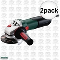 "Metabo 600371420 2pk 4-1/2"" Angle Grinder w/ Quick Wheel Change System"