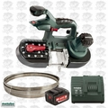 Metabo 613022850 Band Saw (Bare) with 5.2ah Battery & Charger