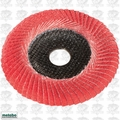 Metabo 626489000 6'' convex flap disc P80 CER