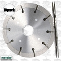 "Metabo 656646 10pk Sandwich Tuck Point Blade 4.5"" x .250 x 7/8-5/8"