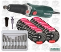 Metabo GE710PLUS 10k ~ 30.5k RPM VS Electric Die Grinder Kit German Made