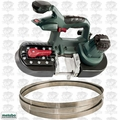 Metabo MBS18LTX25-X1 Band Saw (Bare) with 5.2ah Battery & Charger Open Box