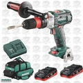 Metabo US625343002 GB 18 LTX BL I Q Cordless Tapping Kit w/2 Batts + Charger